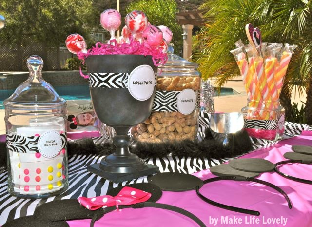 Make Life Lovely: Inexpensive Party Decorating