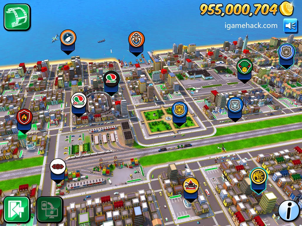 Trucchi LEGO City My City iPhone monete infinite