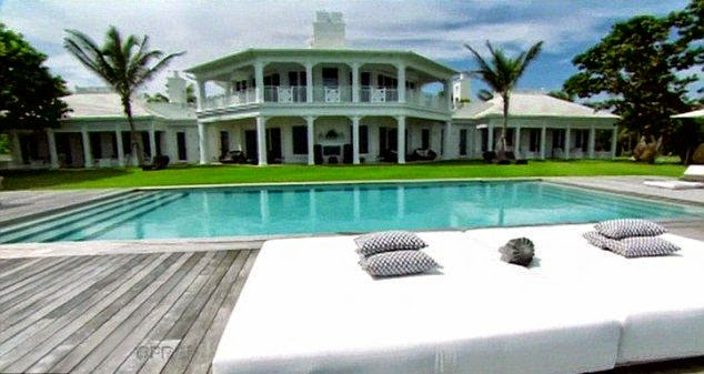 Celine Dion puts $62.5m Florida water park Mansion into Market for $10 million