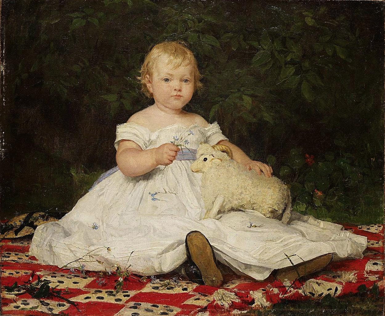albert anker, painting review,cute paintings
