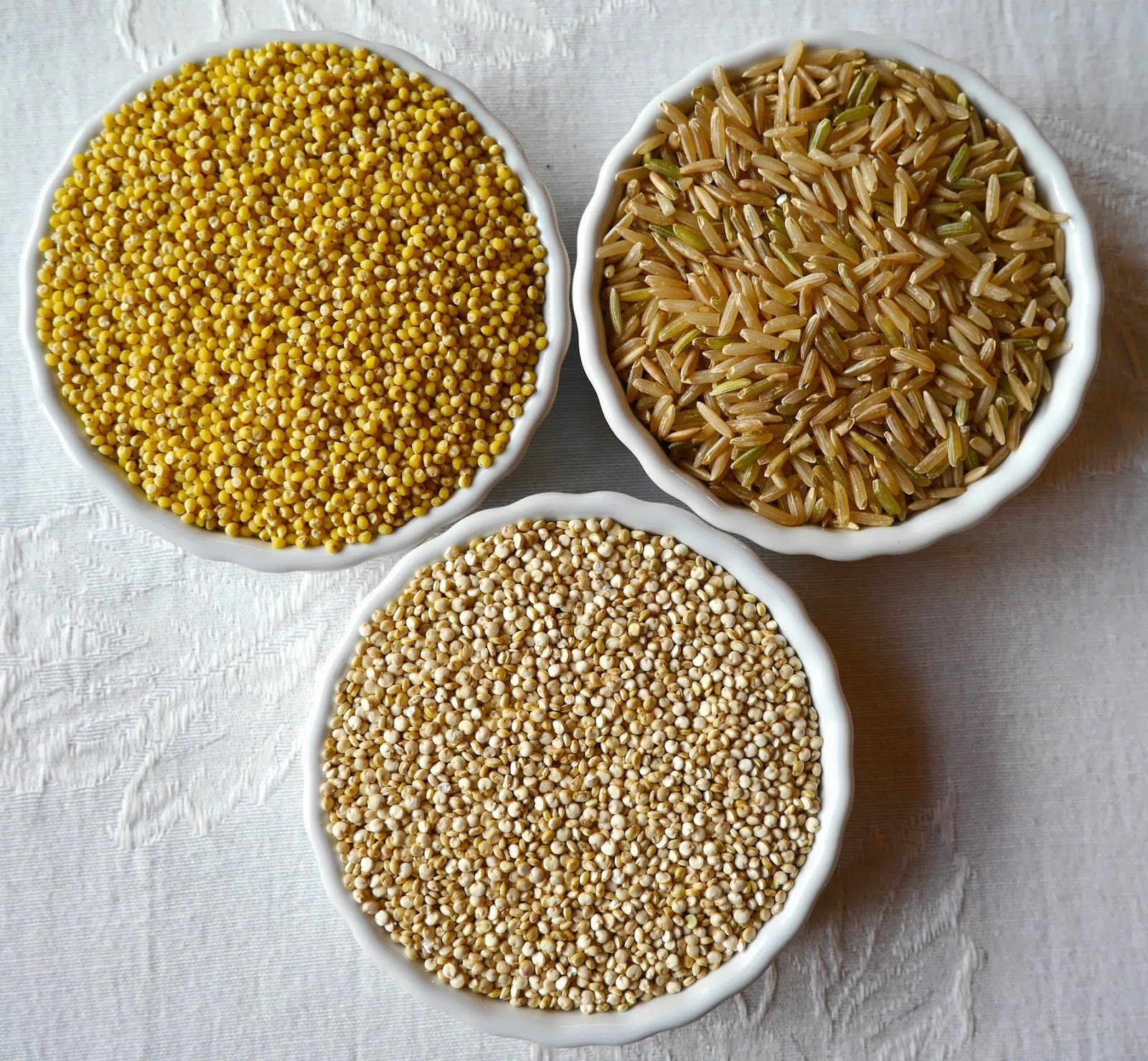 Foods for long life millet brown rice and quinoa excellent gluten free alternatives to wheat - Six alternative uses of rice at home ...