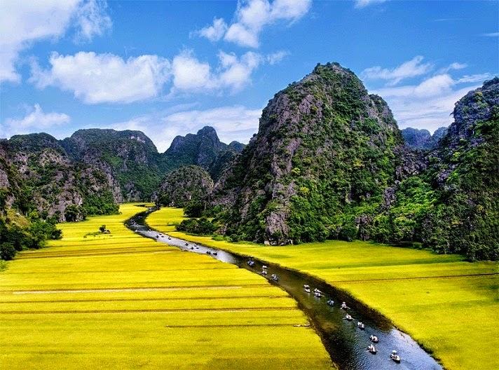 sông Ngô Đồng Tam Cốc Bích Động