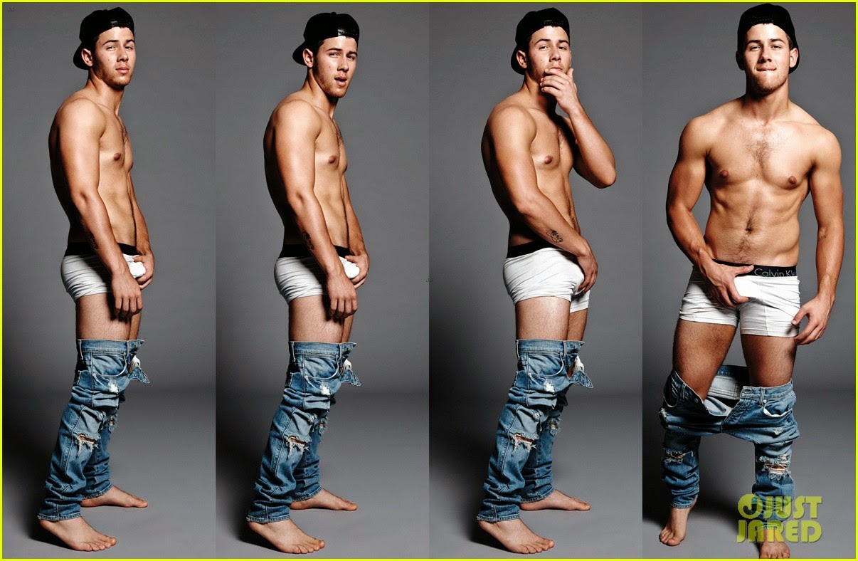 Nick jonas naked ass