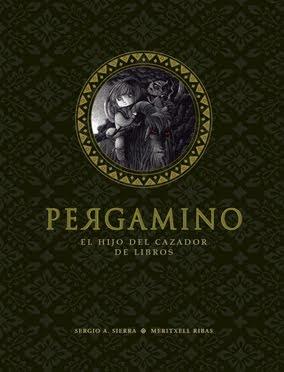 """""""PERGAMINO. EL HIJO DEL CAZADOR DE LIBROS"""" (2012)"""