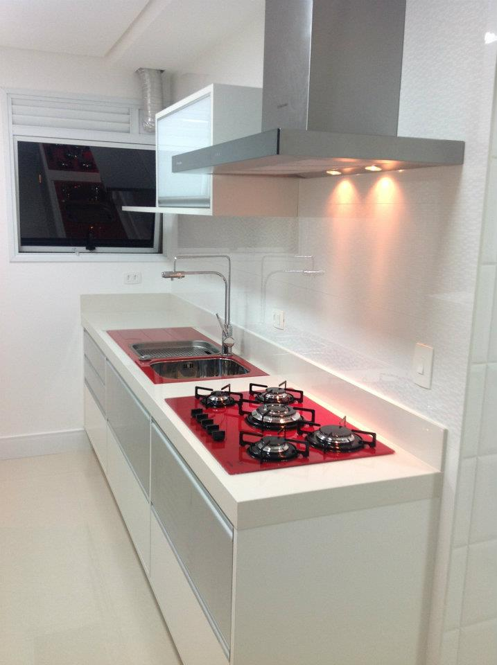 EF Arte & Design Inovação em Porcelanato Bancadas de cozinha em porcela # Bancada De Cozinha De Porcelanato