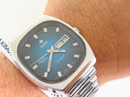 ZODIAC SST BLUE DIAL - AUTOMATIC HIGH BEAT 36000