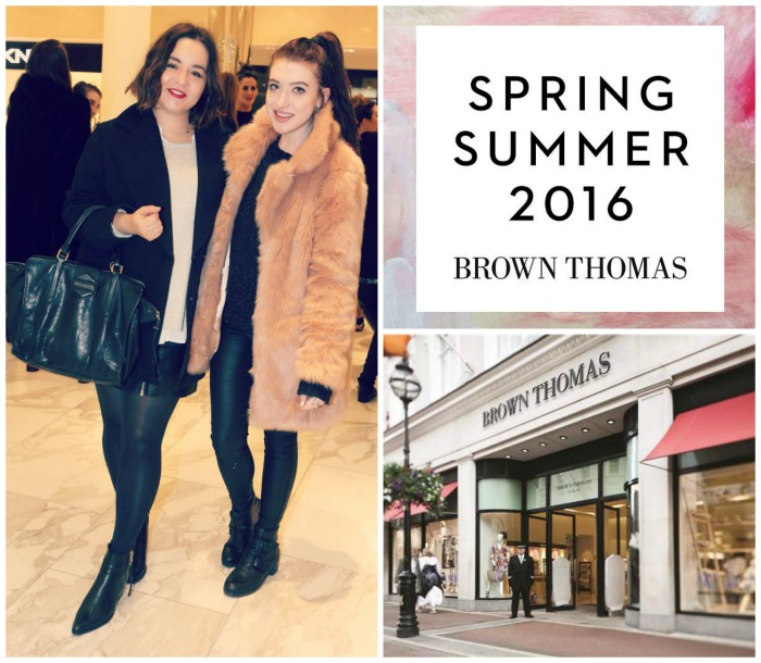 Brown Thomas Fashion Show Spring 2016