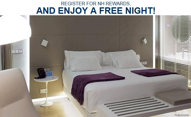 Darmowa noc w hotelach sieci NH hotels