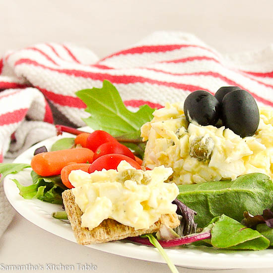 Easy Egg Salad (lite)