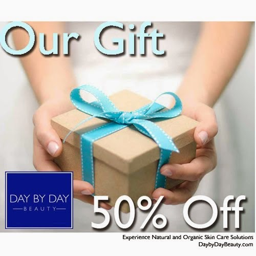 Giveaway 50% off coupon for Day to Day Beauty Products (Open US and CAN)