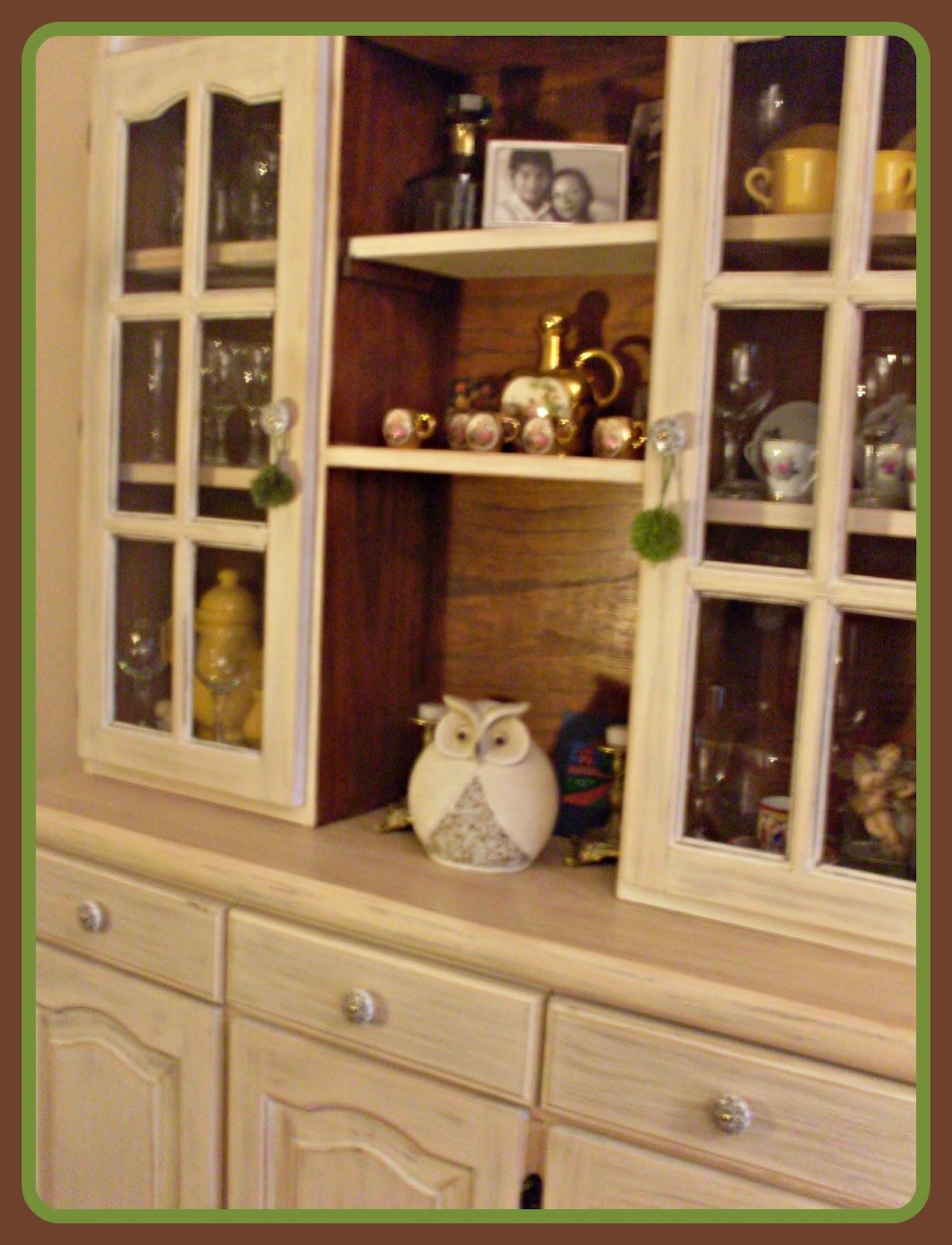 Tus manos y las mias renovar un mueble final - Papel para empapelar muebles ...