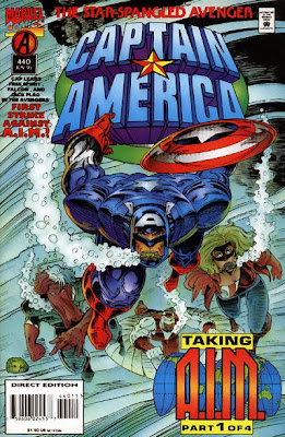 Captain America 440 Cover