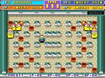 街機:轟炸超人2(炸彈人世界)+作弊碼金手指,懷舊過關冒險遊戲!