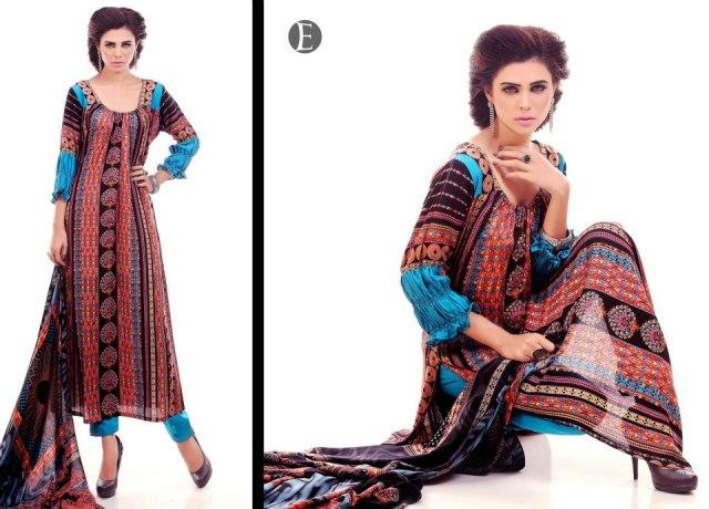 Eiza by UA Textile linen look book Winter collection 2012