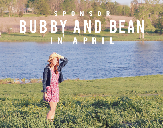 Sponsor Bubby and Bean in March