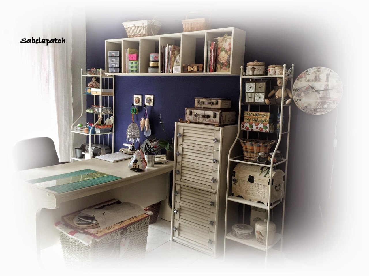 Sabela Patchwork: Mi cuarto de costura
