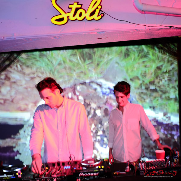 Djs and projected art, ORGNL.TV - Stolichnaya Vodka, Sydney Launch Party