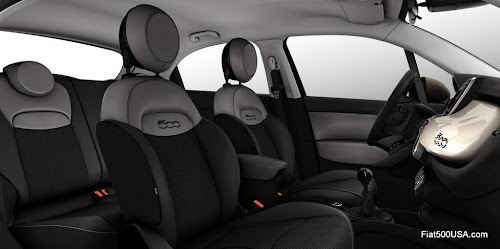 Fiat 500X Opening Edition Urban Interior