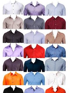 psd erkekler için gömlek kostümleri
