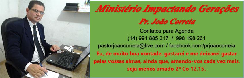 blog do pr João Correia