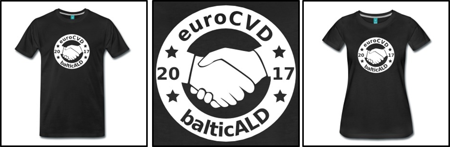 2017 Euro CVD Baltic ALD T-shirt