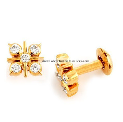 daily wear gold earrings