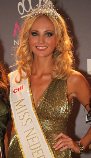 miss netherlands nederland universe 2011 winner jill kelly weekers