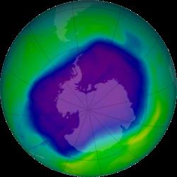 16η Σεπτεμβριου διεθνης ημερα για τη διατηρηση της στιβαδας του οζοντος