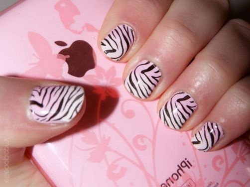 Decoracion de u as zebra - Decoracion en cebra ...