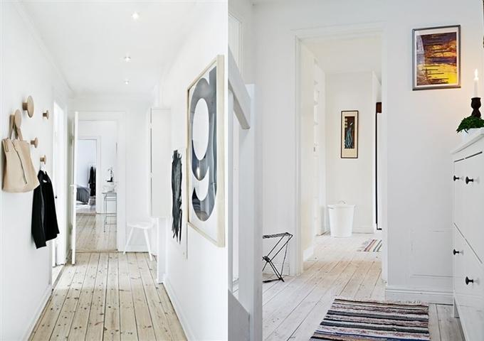 valkokuultolakattu lattia, white pine floor, mäntylattia valkoinen