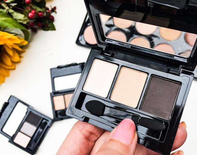 Crownbrush makeup Haul The eyeshadow trio