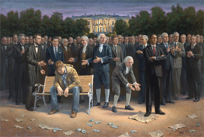 Commentarius de Prognosticis: THE FORGOTTEN MAN - Jon McNaughton