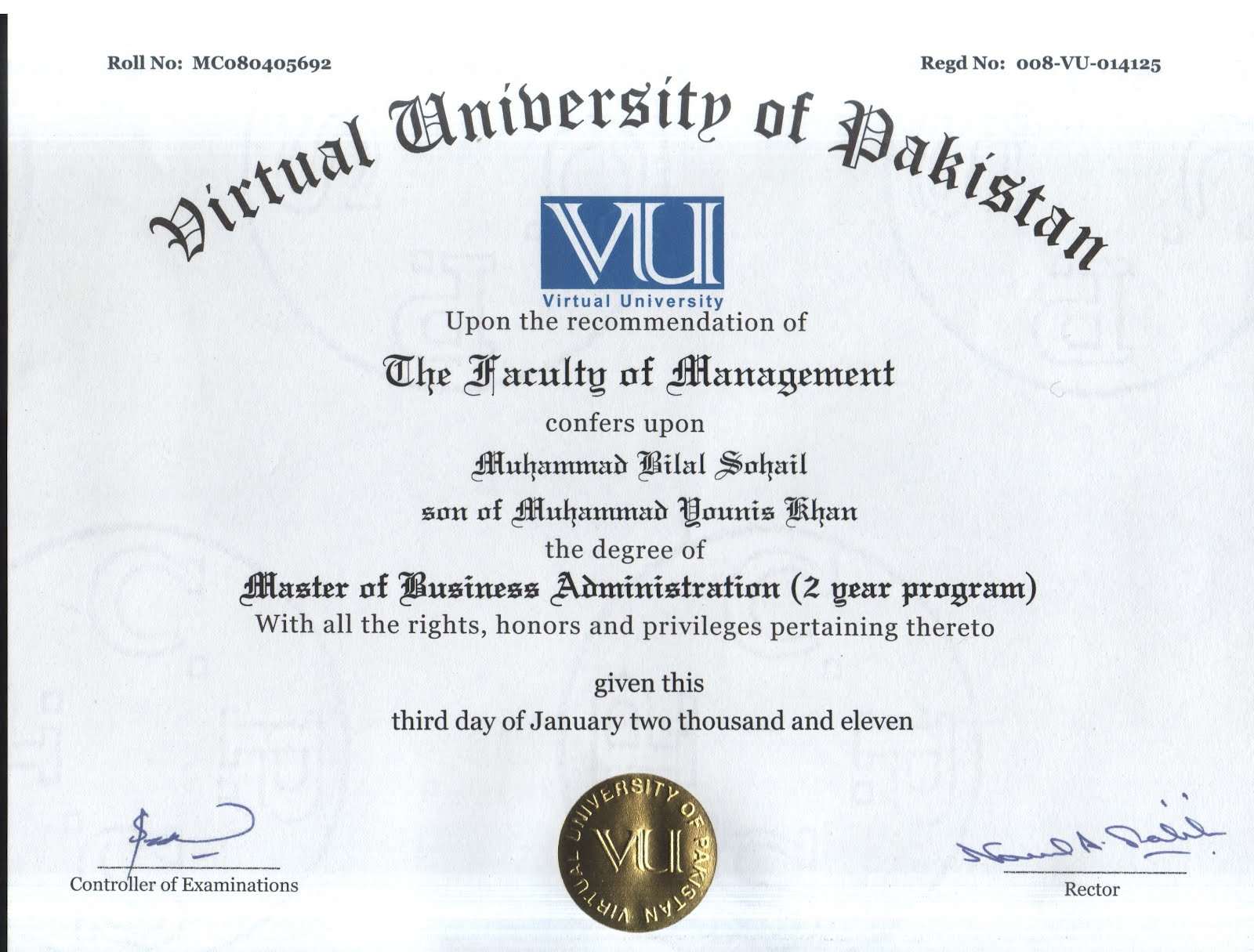 MBA – General Management