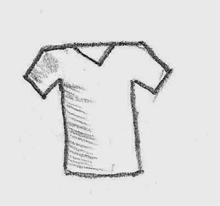 T-Shirt source drawing