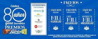 concurso larin 80 aniversario mexico 2013 gana premios en efectivo ochenta mil pesos y premios beneficios instantaneos diarios