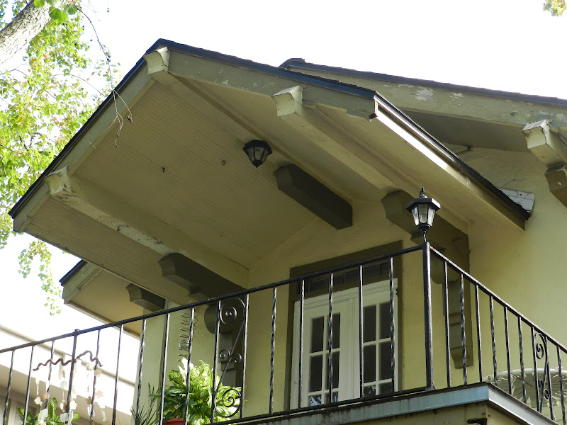 how to do overhang on gable end of roof