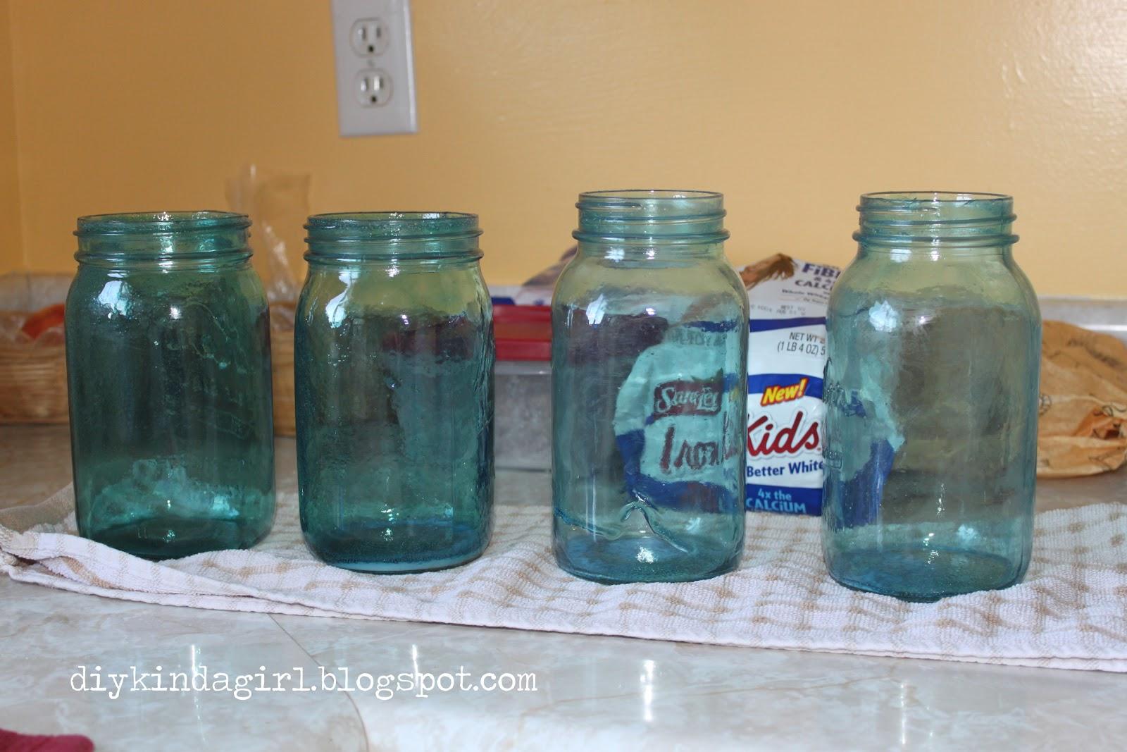 Uncategorized Tinted Jars diy kinda girl wedding mm tinted mason jars jars
