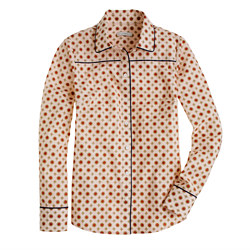 Piped Foulard Shirt