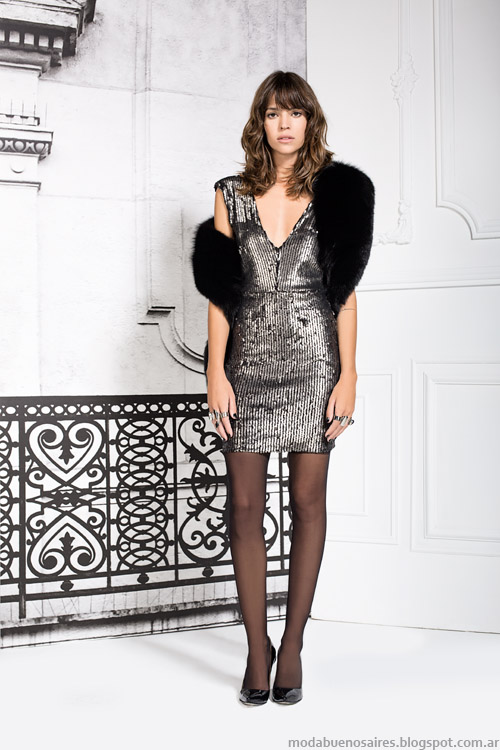 Vestidos de fiesta Paris by Flor Monis otoño invierno 2015. Moda otoño invierno 2015.