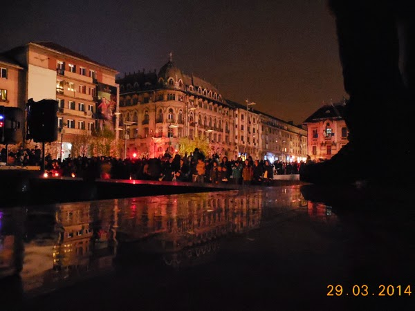 Am fost la Earth Hour 2014 in Craiova