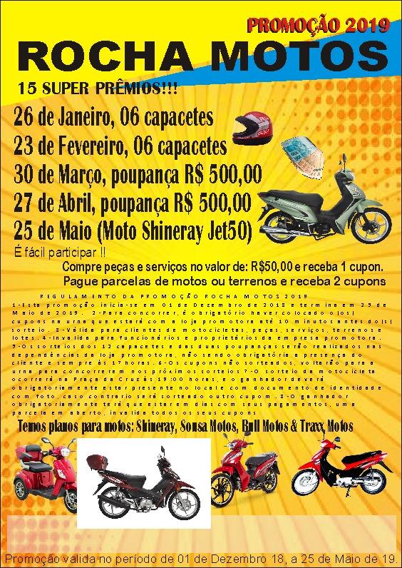 ROCHA MOTOS/ITAPECURU