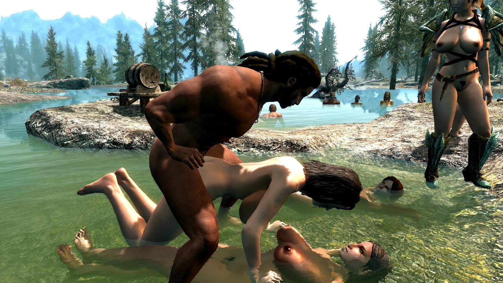 Oblivion sex animations mod hentia film