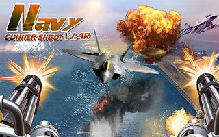 Screenshots of the Navy gunner shoot war 3D for Android tablet, phone.