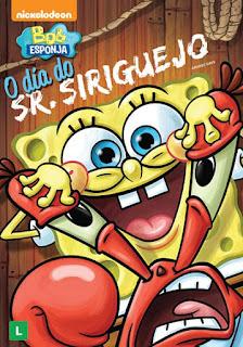 Filme Poster Bob Esponja - O Dia Do Sr. Siriguejo