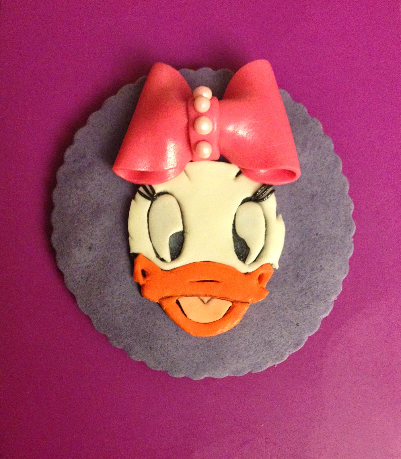 GALLETA, DAISY, FONDANT, DISNEY