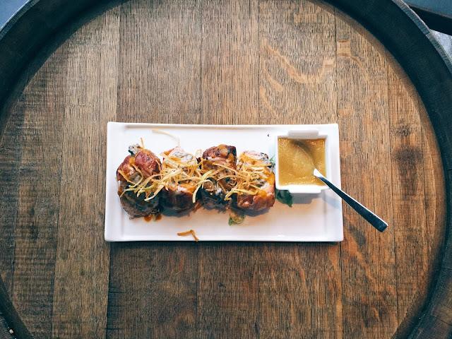 Praelum Wine Bistro - Pork Parcels
