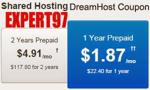 dreamhost $97 discount coupon