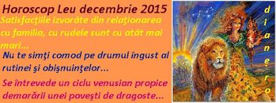 Horoscop Leu decembrie 2015