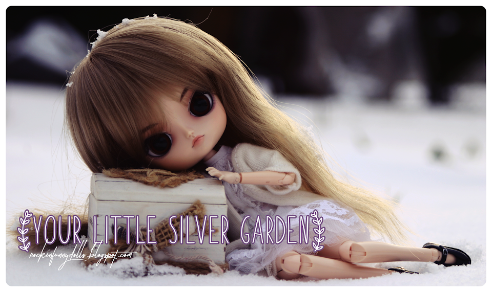 your little silver garden