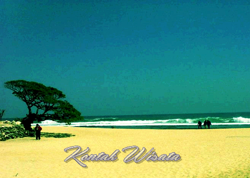 Beauty of Pok Tunggal Beach Jogja